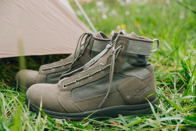 Snow Peak与Danner第三次合作 推出更具轻量化的鞋型TACHYON