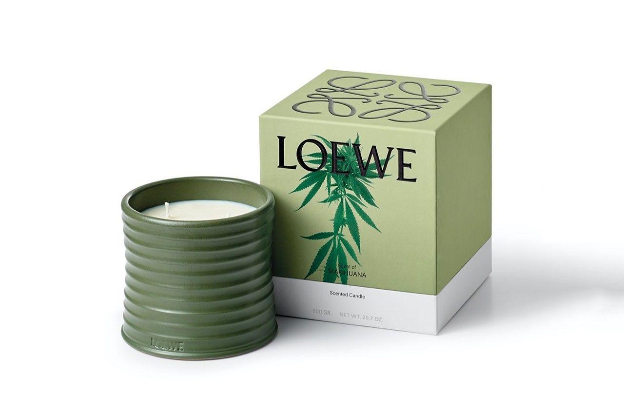 LOEWE推出全新家居香氛蜡烛系列,令人好奇的香味!