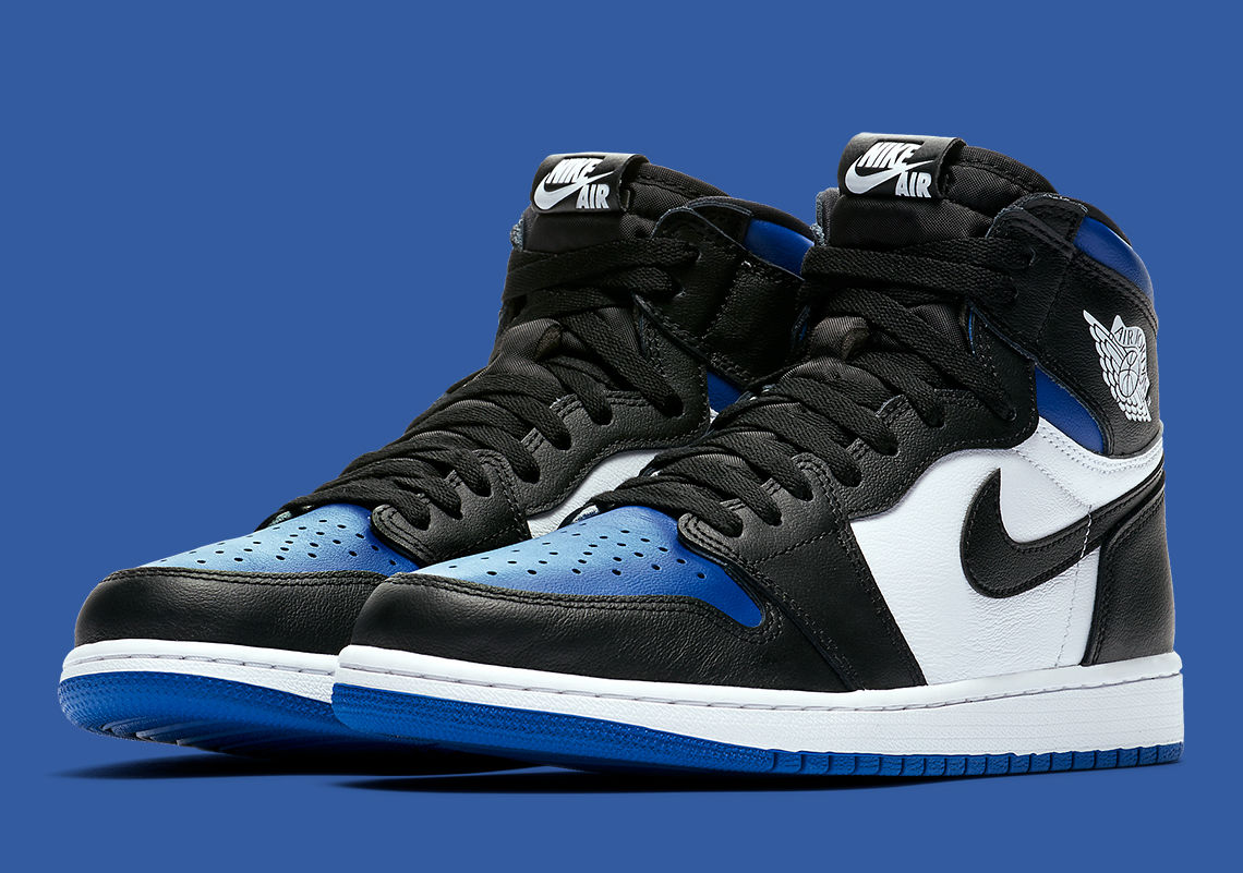 "Air Jordan 1"" Royal Toe""确定发售时间,此鞋上市必抢手"