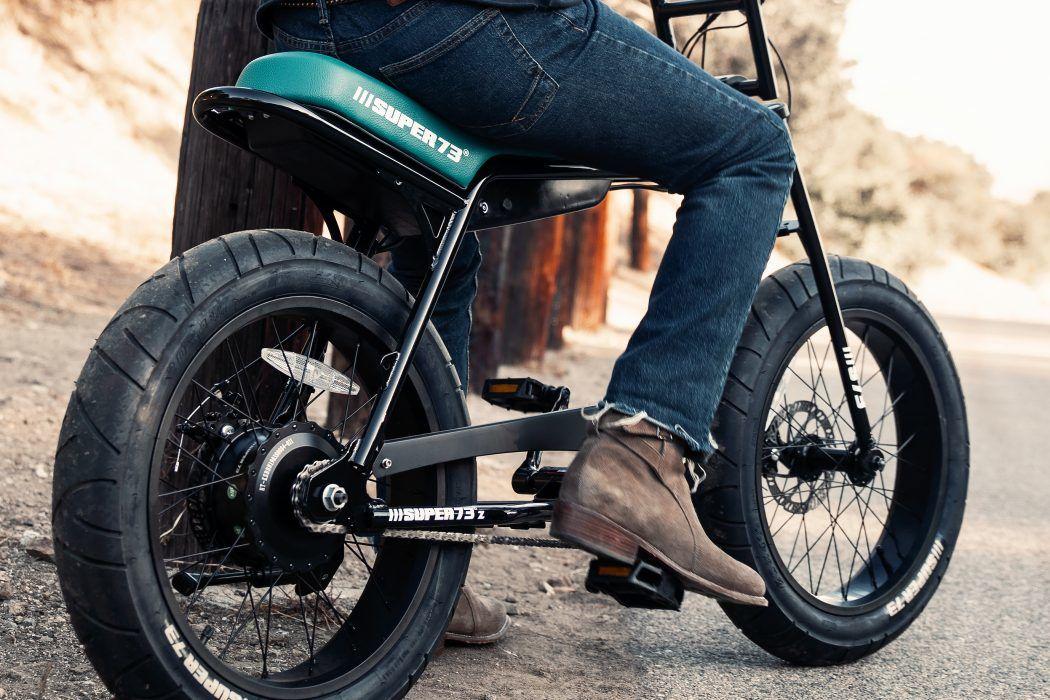 一台看着不像电动自行车的自行车,Super73-Z1