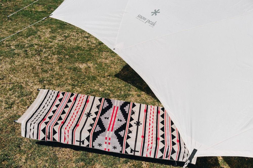 snow peak携手Pendleton打造露营毛毯,更是搭配好物