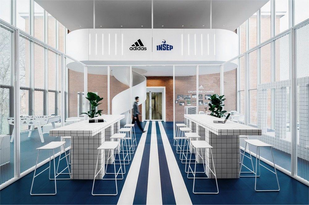 法国国家体育学院INSEP携手adidas翻新改造空间