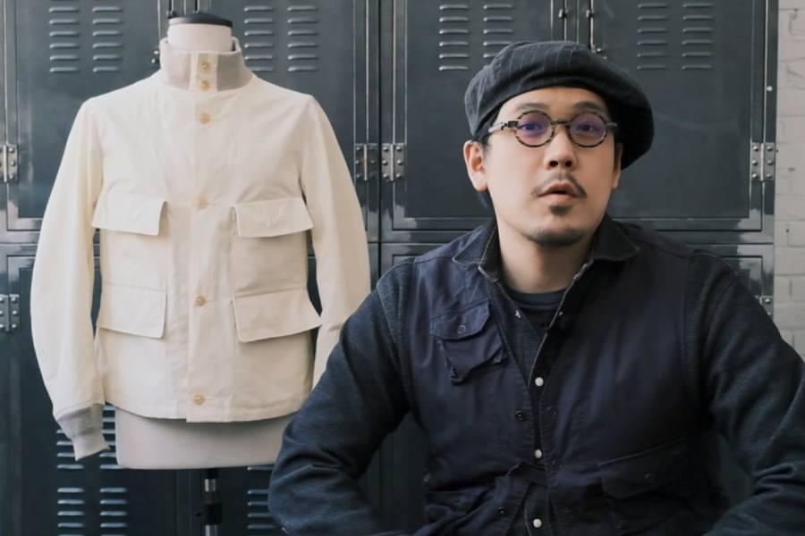 用二战时期的复古机能防水面料,做一件夹克是什么样子?