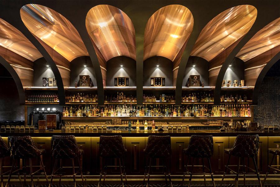 化繁为简,以大麦为概念创新设计威士忌酒吧