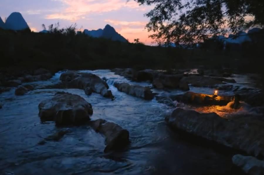 流浪小哥的露营Vlog:在落日余晖下感受户外的魅力