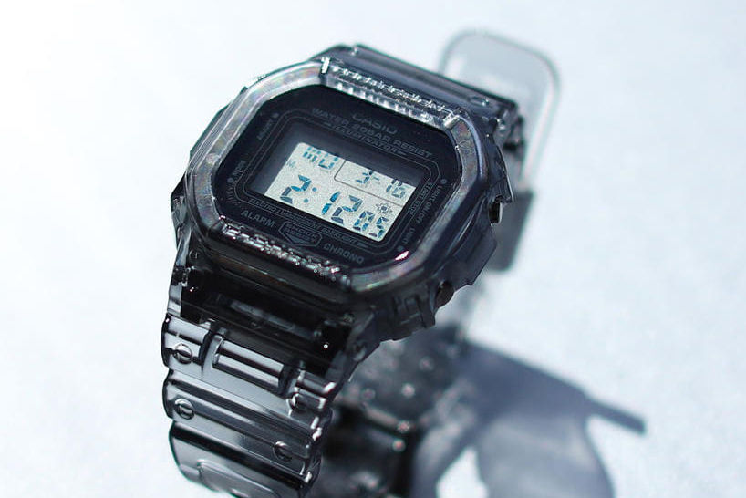 清爽半透明质感,BEAMS x G-SHOCK夏日新作