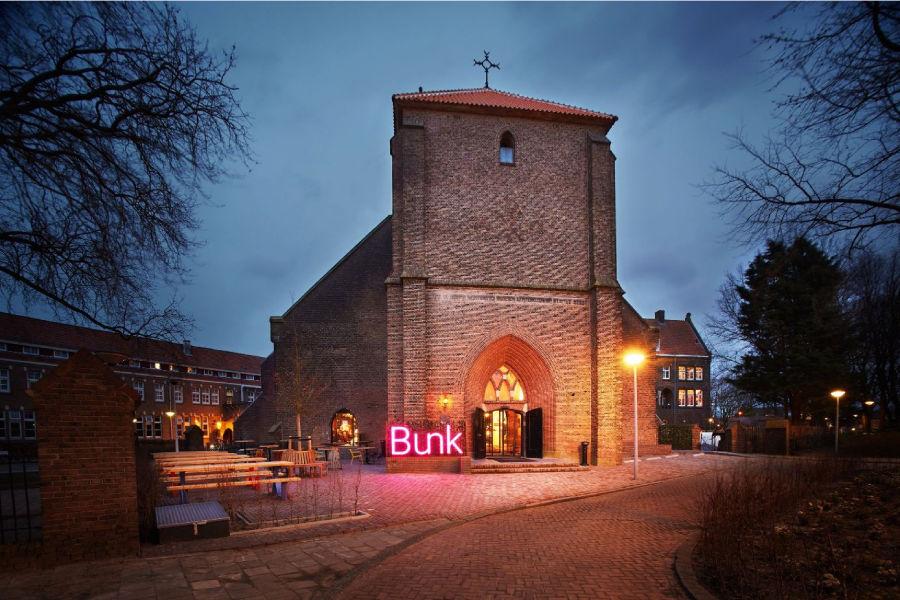 BUNK Hotel:一个集合了胶囊睡仓、空中客房的新型共享酒店