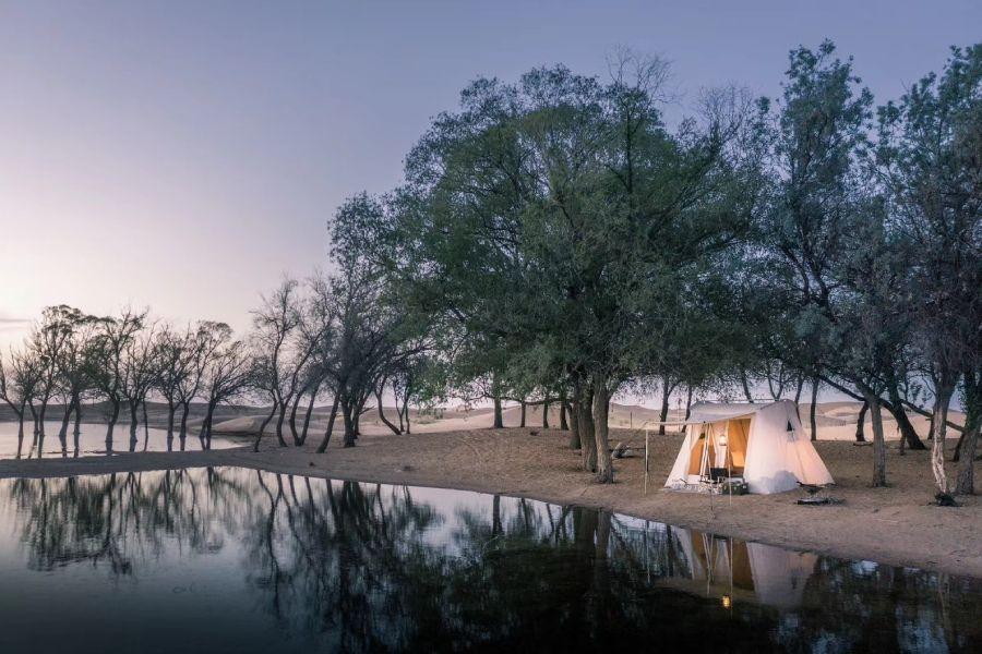 露营手帐:在腾格里沙漠,与自己相遇