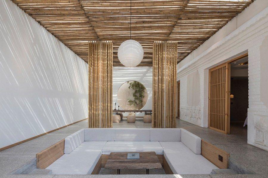 秦皇岛拾夏小院:一座由百年老宅改造的禅意竹屋
