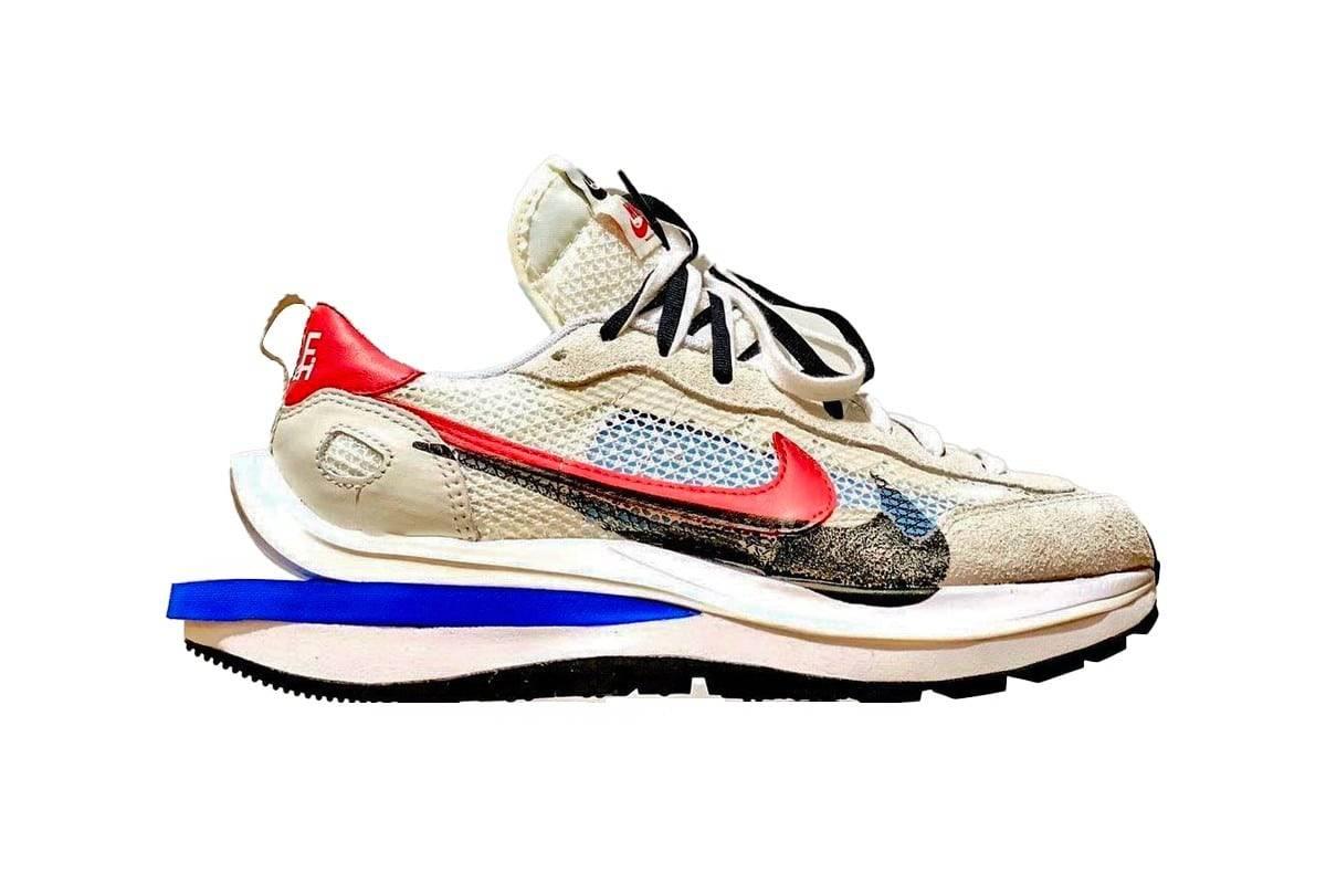 解构艺术,Sacai x Nike新色Vaporwaffle即将面世
