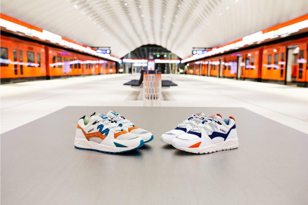 "Karhu ""Metro"" Fusion 2.0:致敬赫尔辛基的地铁站建筑"