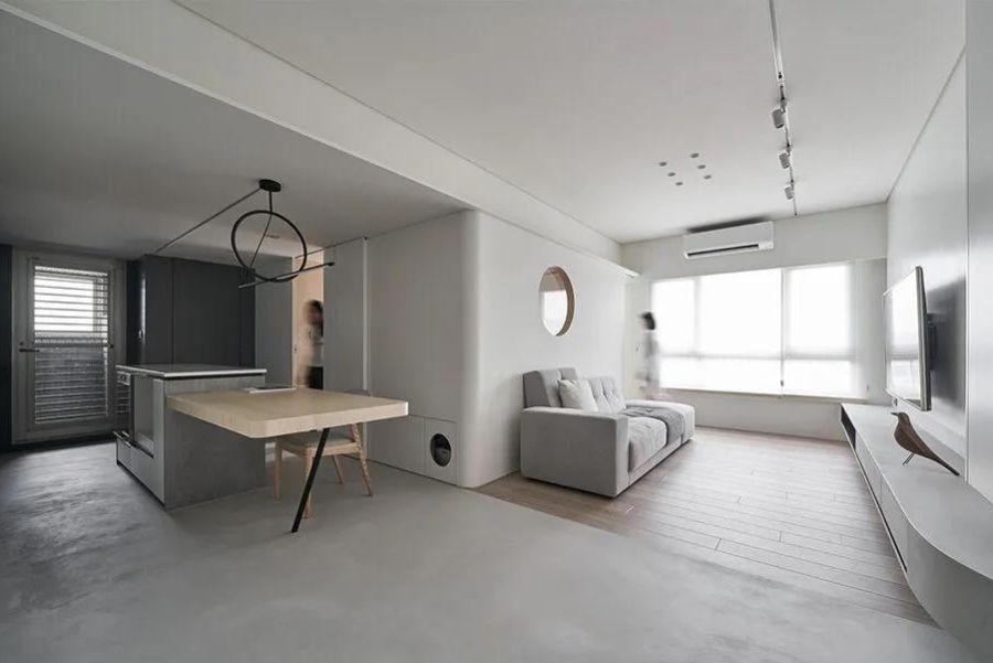 56㎡打造四居室想想就不可能,但它真的实现了!