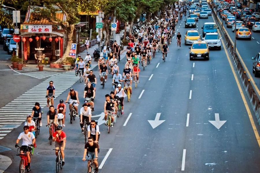 嘿!骑行侠们!谢谢你们正在用单车改变城市面貌