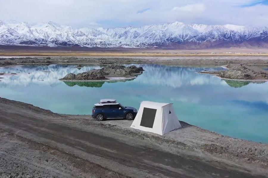 """翡翠湖露营手账,这是一个被上帝""""疼爱""""的地方"""