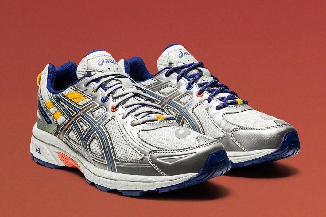 未来派改造,IAB-Studio x ASICS联名GEL-Venture 6跑鞋