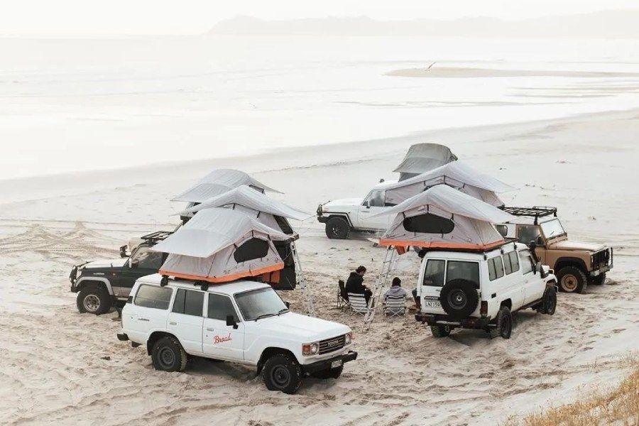 Camping life:来自南太平洋的海风