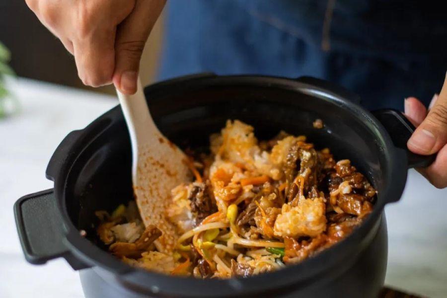 没有石锅,用电饭锅能不能做石锅拌饭?