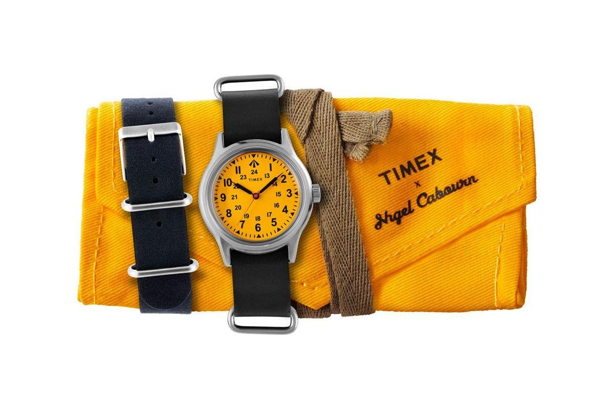 Nigel Cabourn x Timex打造跳脱的复古风军事腕表