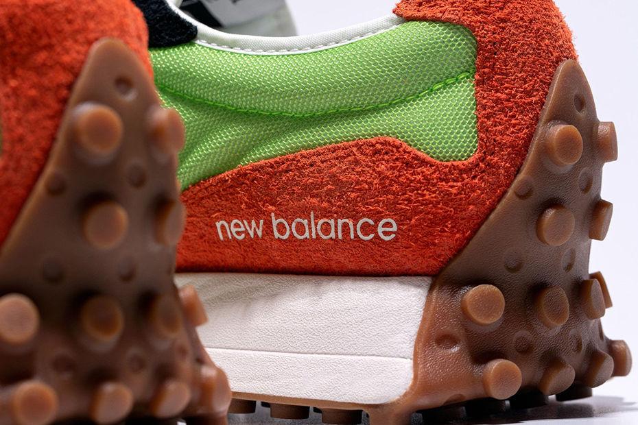 复古氛围x活力配色,New Balance 327新色集结