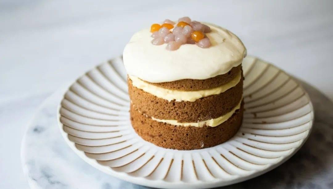 喜茶味的奶茶小蛋糕,在家也能做吗?