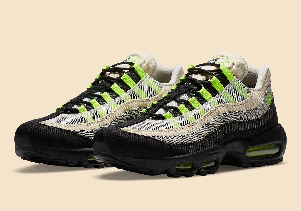 DENHAM携手Nike推出Air Max 95,丹宁面料质感凸出