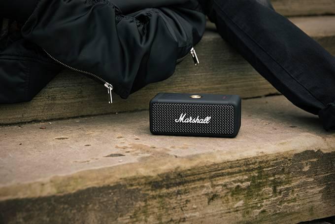 Marshall 推出全新迷你尺寸便携式扬声器 Emberton