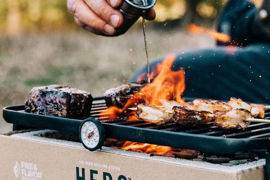 Hero Grill System:让你随时随地都能尽兴烧烤