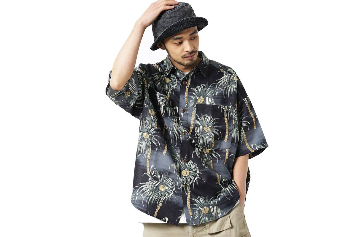 5款夏威夷衬衫单品供大家选择 在今夏让自己的搭配绽放光芒