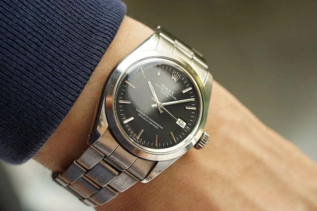 1971年的1500蚝式男士钢表