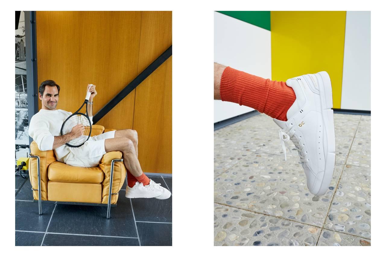 费德勒 x On 亮相合作款复古网球运动鞋 THE ROGER