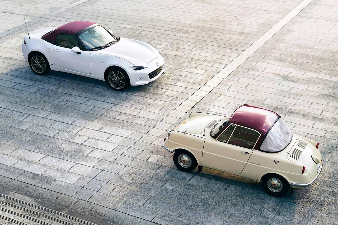 Mazda推出100周年纪念款跑车:MX-5 Miata
