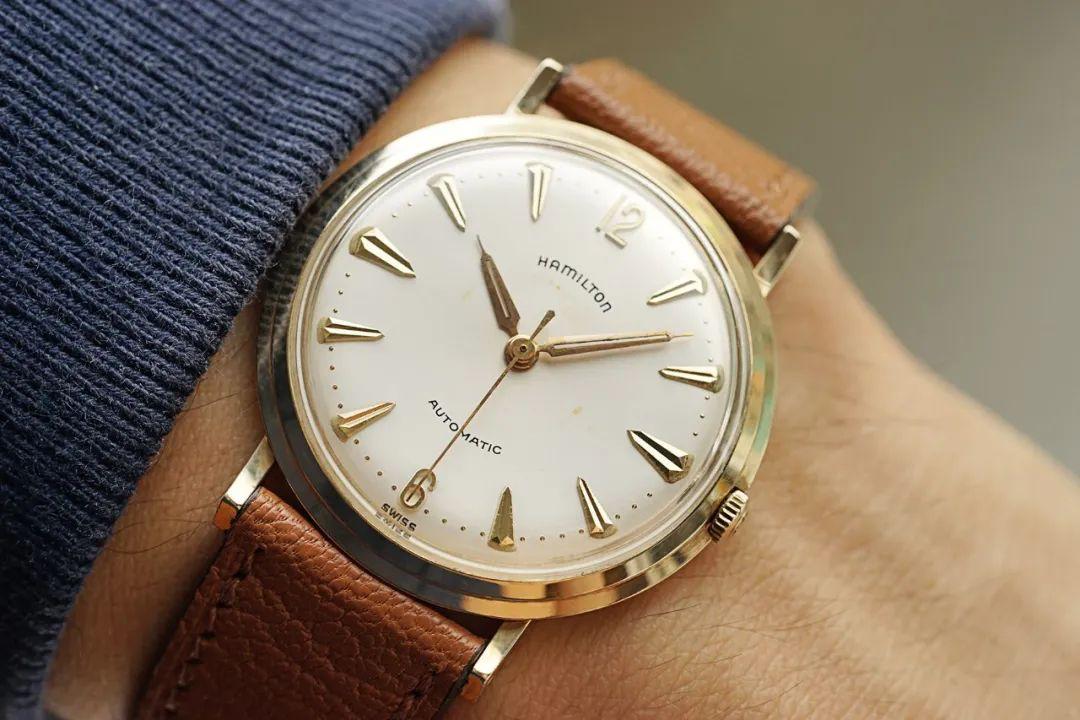 腕表推荐:Hamilton古董黄金腕表