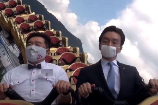 """日本游乐园出了一项""""反人性""""新规:不要在过山车上尖叫…"""