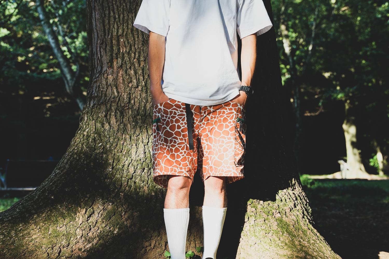GRIP SWANY联合 atmos推出超人气动物纹户外短裤