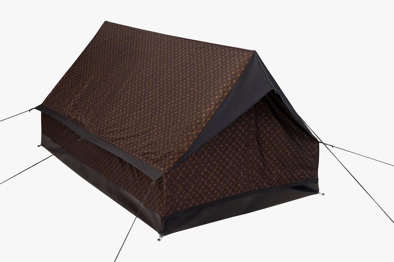 LV发布超抢眼Trunk Backpacks,还伴随一款豪华帐篷