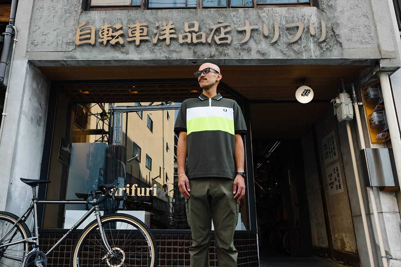 骑行 x 时尚,Fred Perry x narifuri发布Cycling Capsule