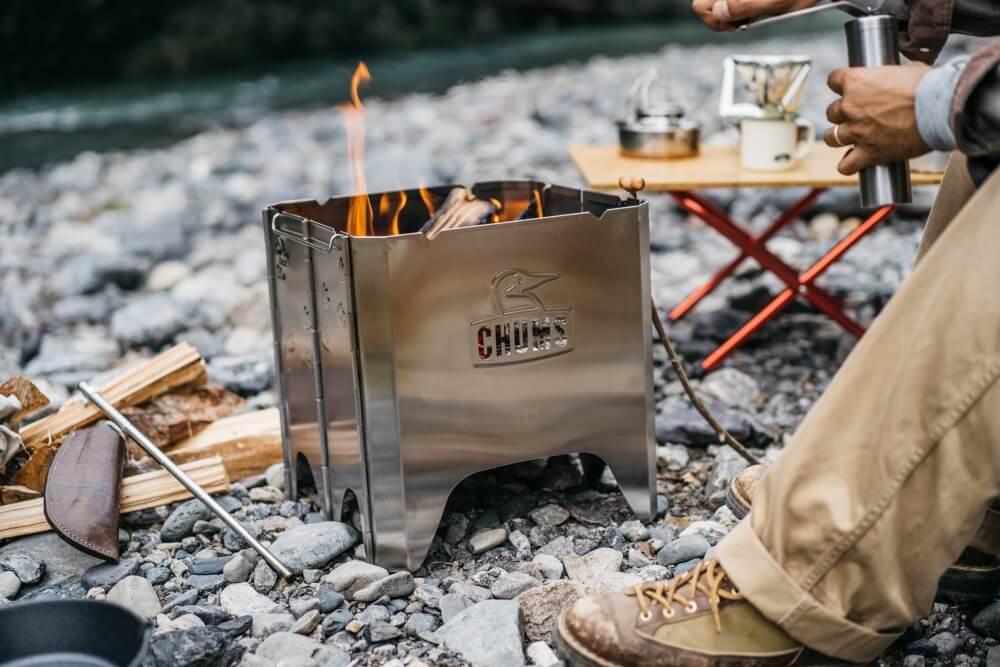 """燃烧的""""CHUMS"""",冬天里的一款「靓」火炉"""