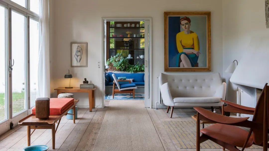 假如北欧家居风格会有终点,那么最远的边界可能是Finn Juhl的家