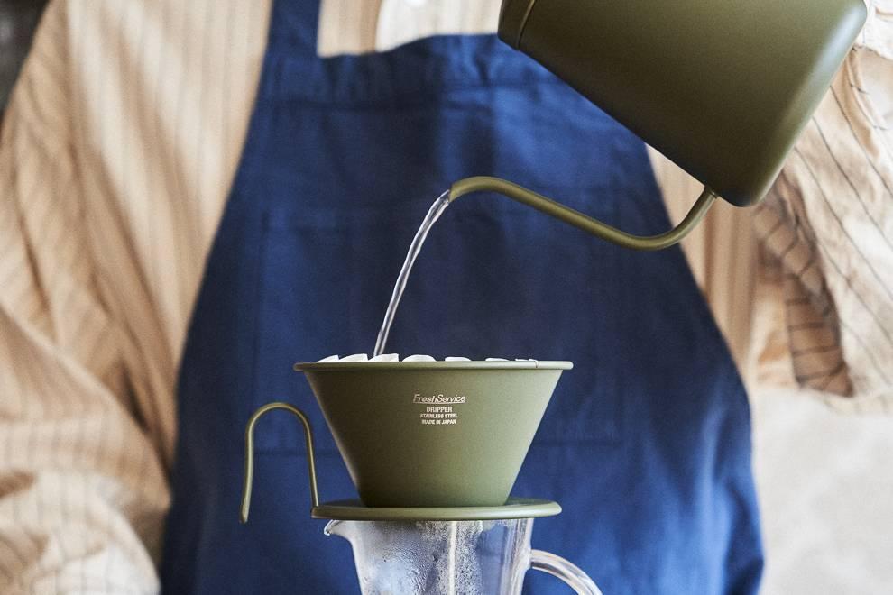 复古工业氛围,FreshService x Kalita 推出联名咖啡器具