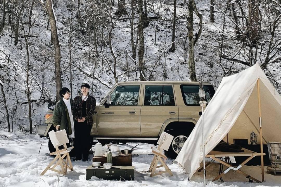 这对日本田园夫妻告诉你,为何风格露营可以与私下生活品位划等号?