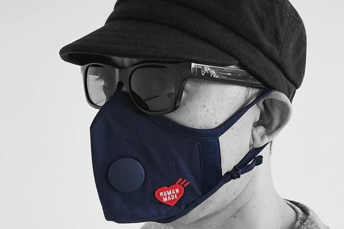 口罩也能玩出新花样,Airinum携手Human Made推出联名限量口罩