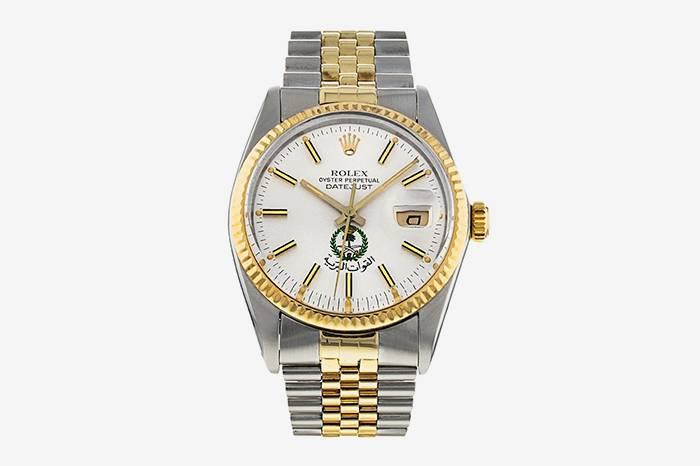 稀有表款,1983 年 Rolex Datejust「沙乌地阿拉伯皇家警部」出售