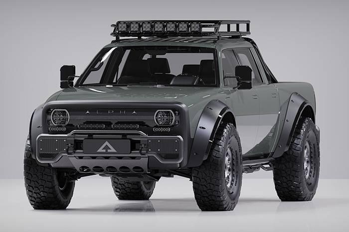 电能越野,Alpha Motors 发布全新 Superwolf 电能越野车型