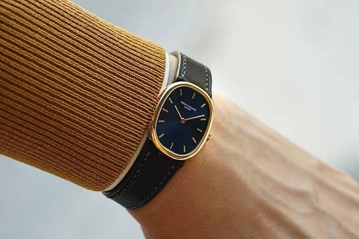 百达翡丽Golden Ellipse系列女士黄金腕表