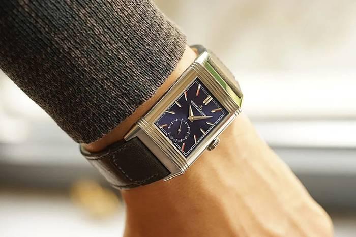 一枚非常迷人的积家REVERSO男士腕表